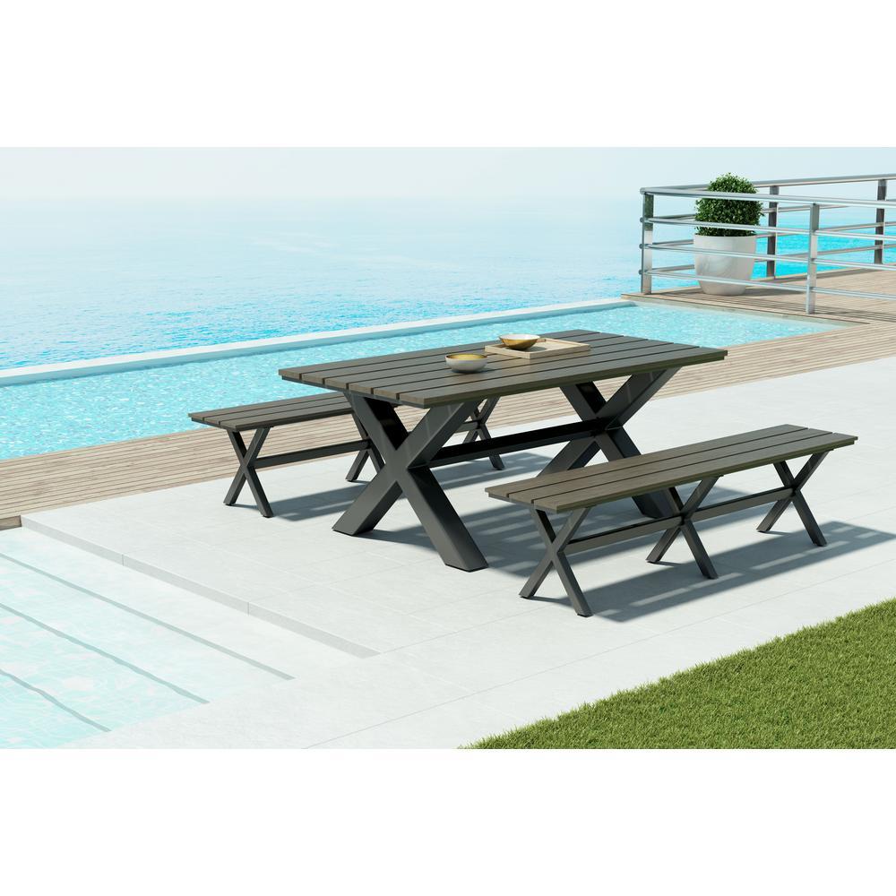 Bodega Aluminum Outdoor Dining Table