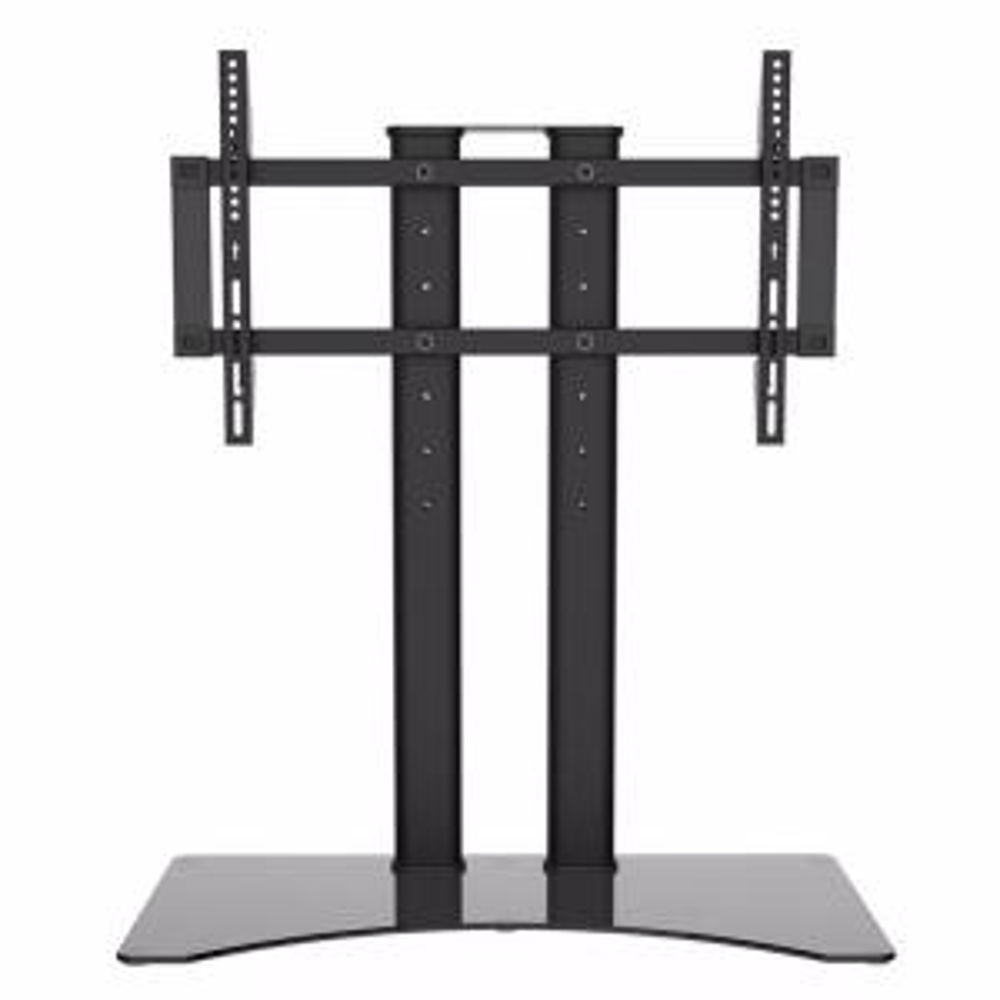 Atlantic Adjustable Table Top Tv Stand Desk Mount Black 63607103