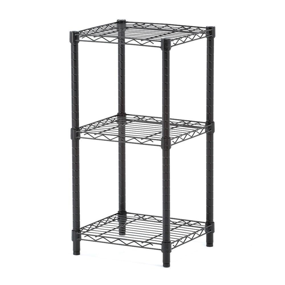 3-Shelf 14 in. W x 30 in. H x 15 in.
