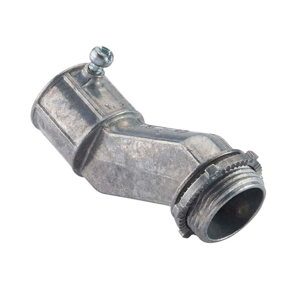 Halex 3/4 in. Electrical Metallic Tube (EMT) Offset Set-Screw Connector
