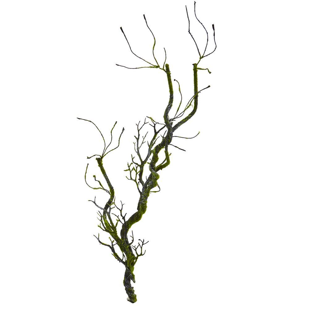 Indoor 43 Moss Twig Vine Artificial Plant (Set of 4)