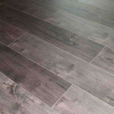 Espresso Birch 12 mm Thick x 7.7 in. Wide x 48 in. Length Click-Locking Laminate Flooring Planks (17.943 sq. ft. / case)