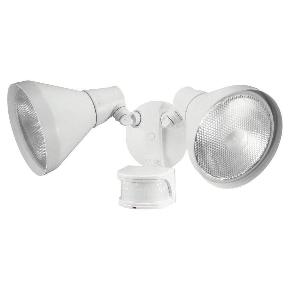 110-Degree White Motion Sensing Outdoor Security Light