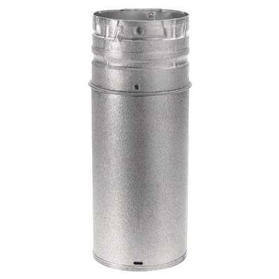 PelletVent 4 in. - 10 in. x 12 in. Adjustable Double-Wall Chimney Stove Pipe
