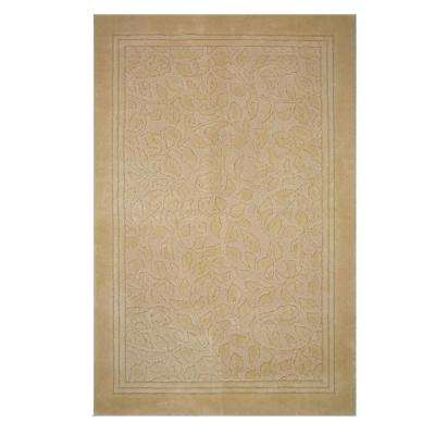 Wellington 5 ft. x 7 ft. Nylon Bath Rug in Deep Sand