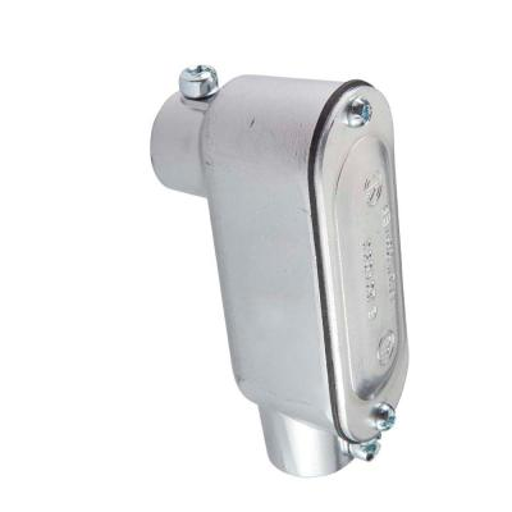 1/2 in. Electrical Metallic Tube (EMT) Type LB Set-Screw Conduit Body