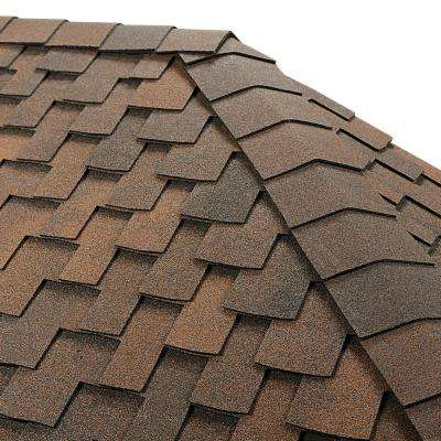 Timbertex Sedona Sunset Premium Hip and Ridge Shingles (20 linear ft. per Bundle)