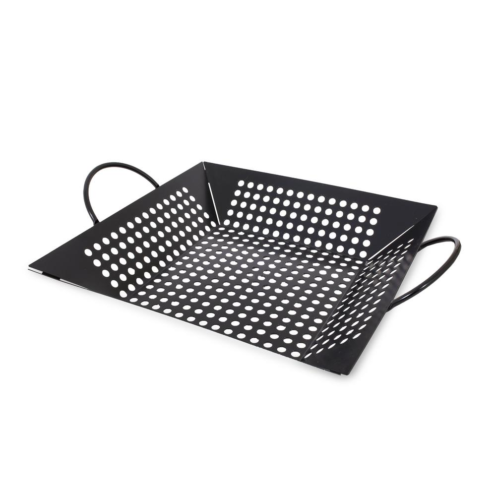 Grill Basket by Pit Boss - Grill Topper Basket Perfect for