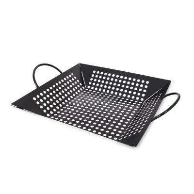Grill Basket by Pit Boss - Grill Topper Basket Perfect for Veggies, Meat, Fish