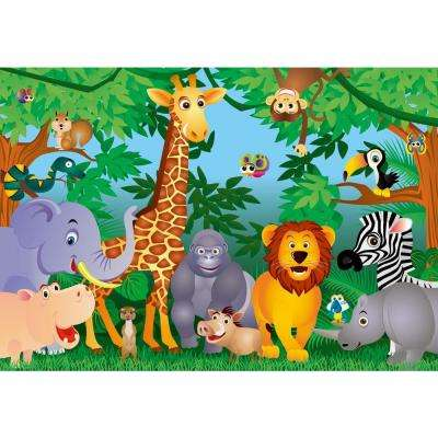100 in. x 144 in. The Jungle Wall Mural