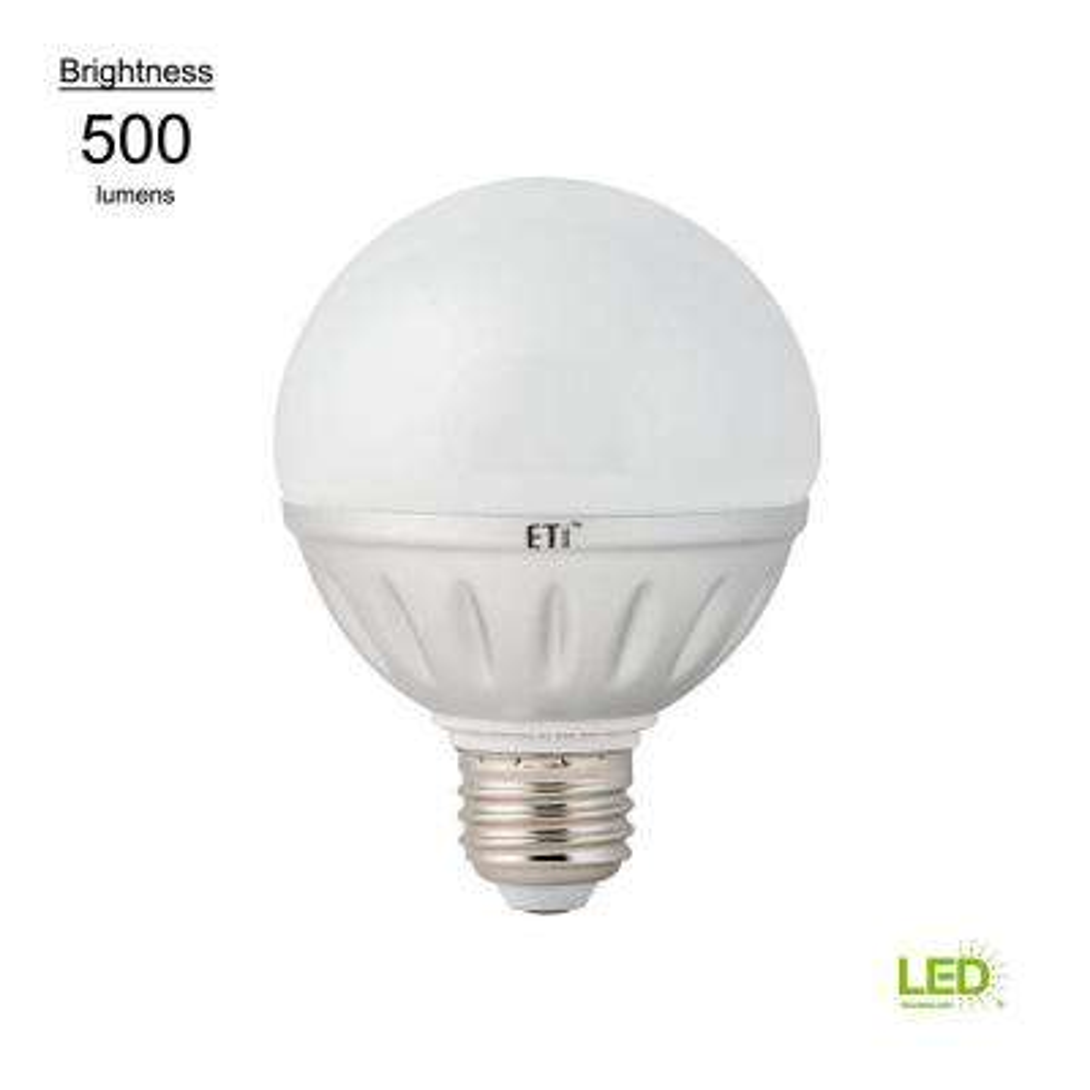 40W Equivalent Warm White G25 LED Light Bulb