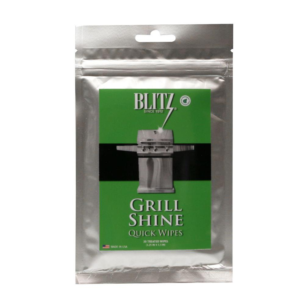 Grill Shine Quick Wipes