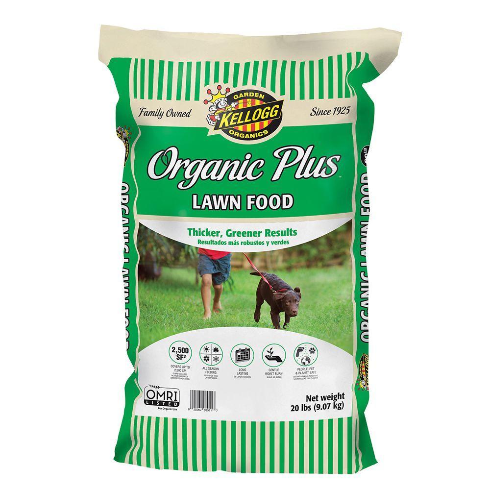 Kellogg Garden Organics 20 lbs. Organics Lawn Food