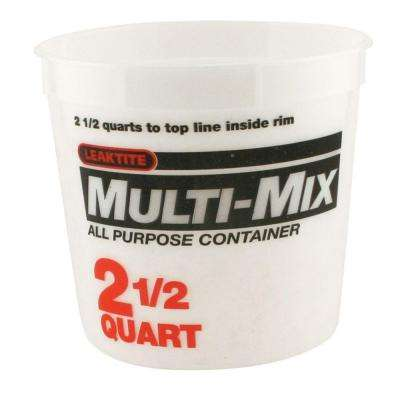 2.5-Qt. Multi Mix Container (Pack of 3 )