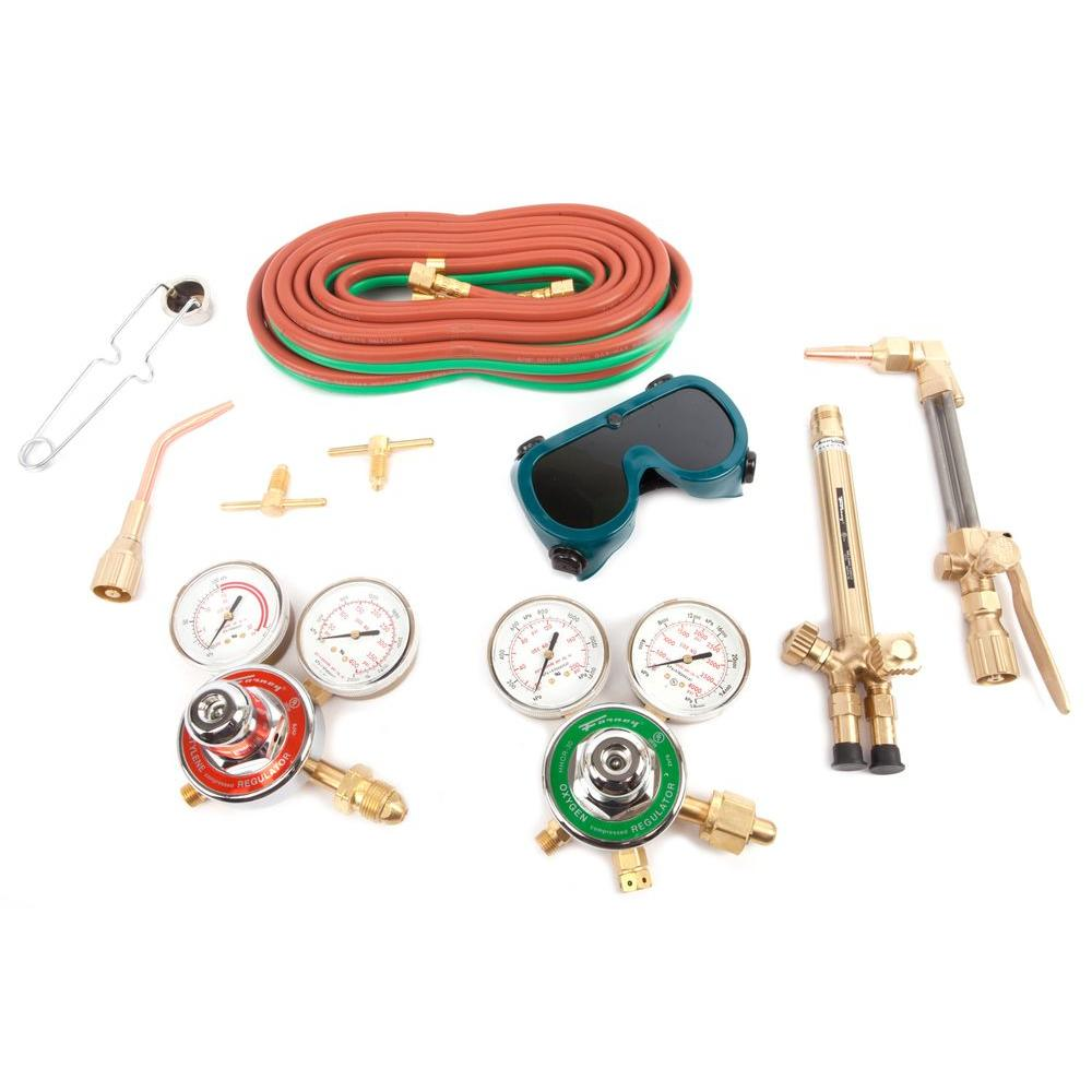 Medium Duty Oxygen Acetylene Harris Type Torch Kit