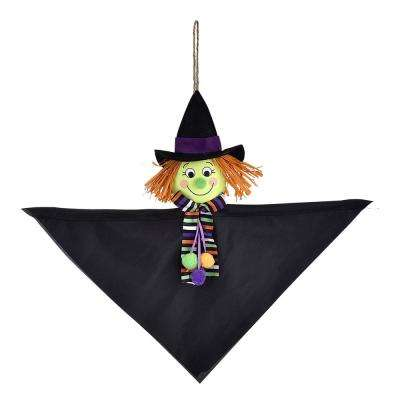 12 in. Halloween Value Witch Hanging Decoration (8-Pack)