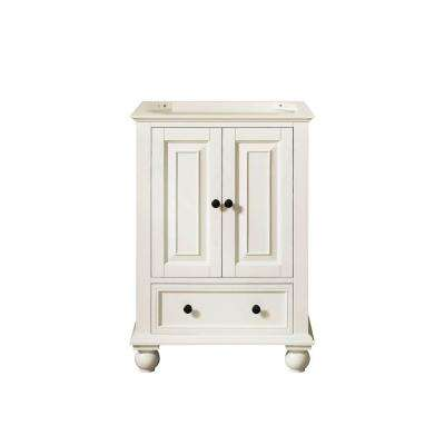 Thompson 24 in. W x 21 in. D x 34 in. H Vanity Cabinet in French White