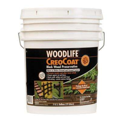 5 gal. CreoCoat Black Below Ground Wood Preservative