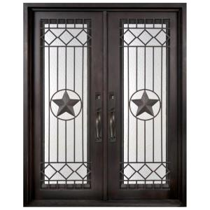Superior Texas Star Classic Full Lite Painted Oil Rubbed Bronze