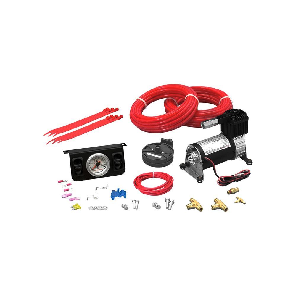 Air-Rite Air Command Standard Duty Dual Electric Air Compressor System Kit (WR17602178)
