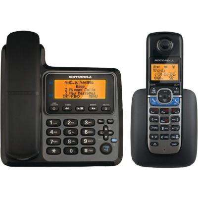 2-Handset Corded/Cordless Phone