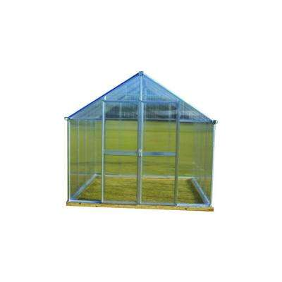 4 ft. x 6 ft. Greenhouse Additional Door Kit in Aluminum