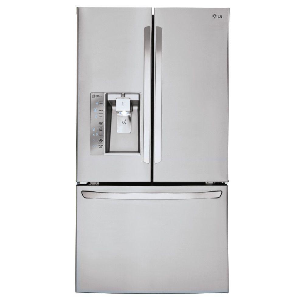 29.8 cu. ft. French Door Refrigerator in Stainless Steel