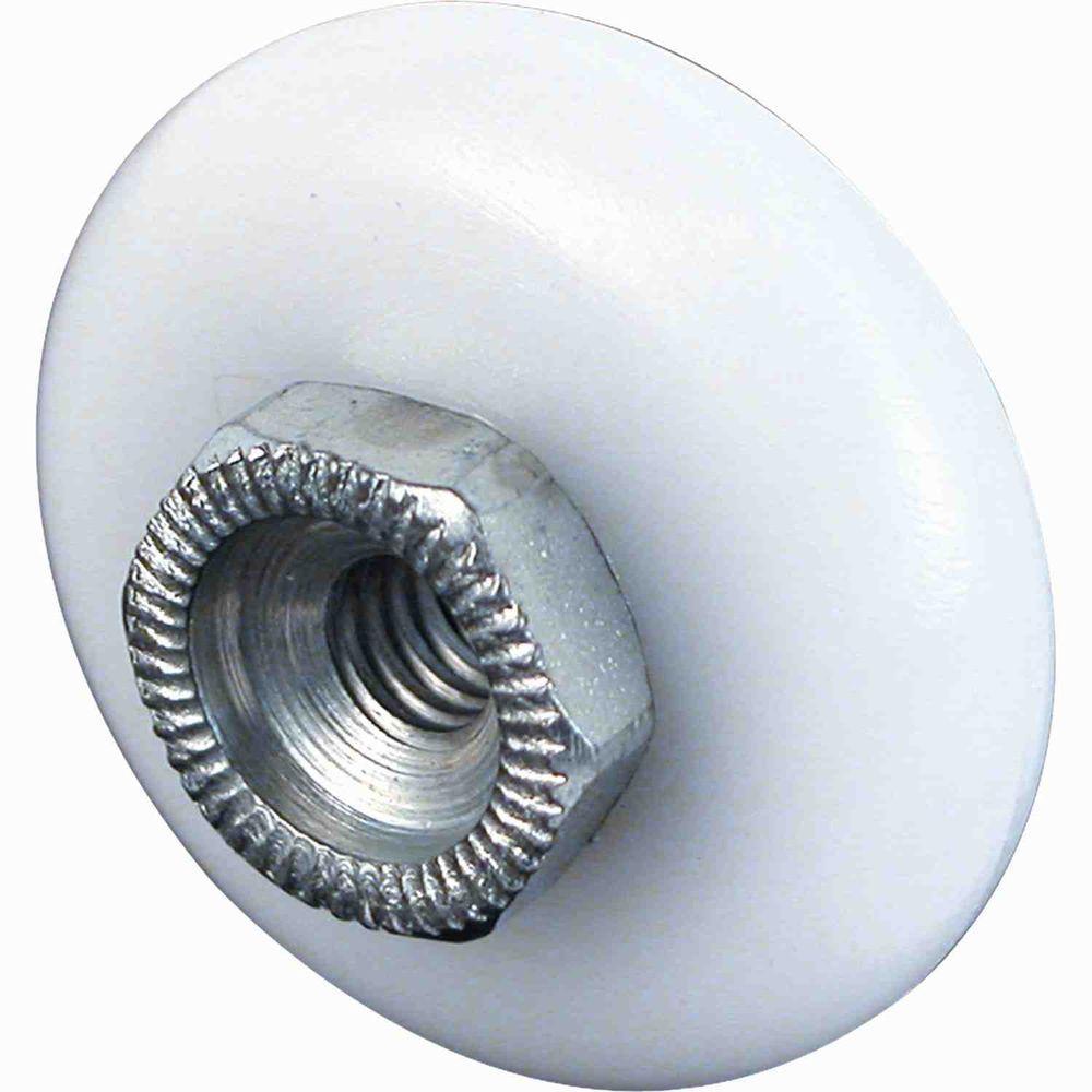 Prime-Line 3/4 in. Nylon Oval Edge Rollers for Sliding Shower Doors (4-Pack)
