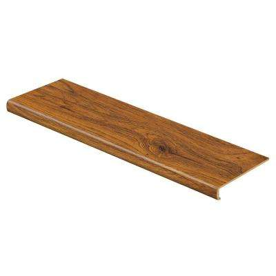 Medium Oak 47 in. Length x 12-1/8 in. Deep x 2-3/16 in. Height Laminate to Cover Stairs 1-1/8 in. to 1-3/4 in. Thick