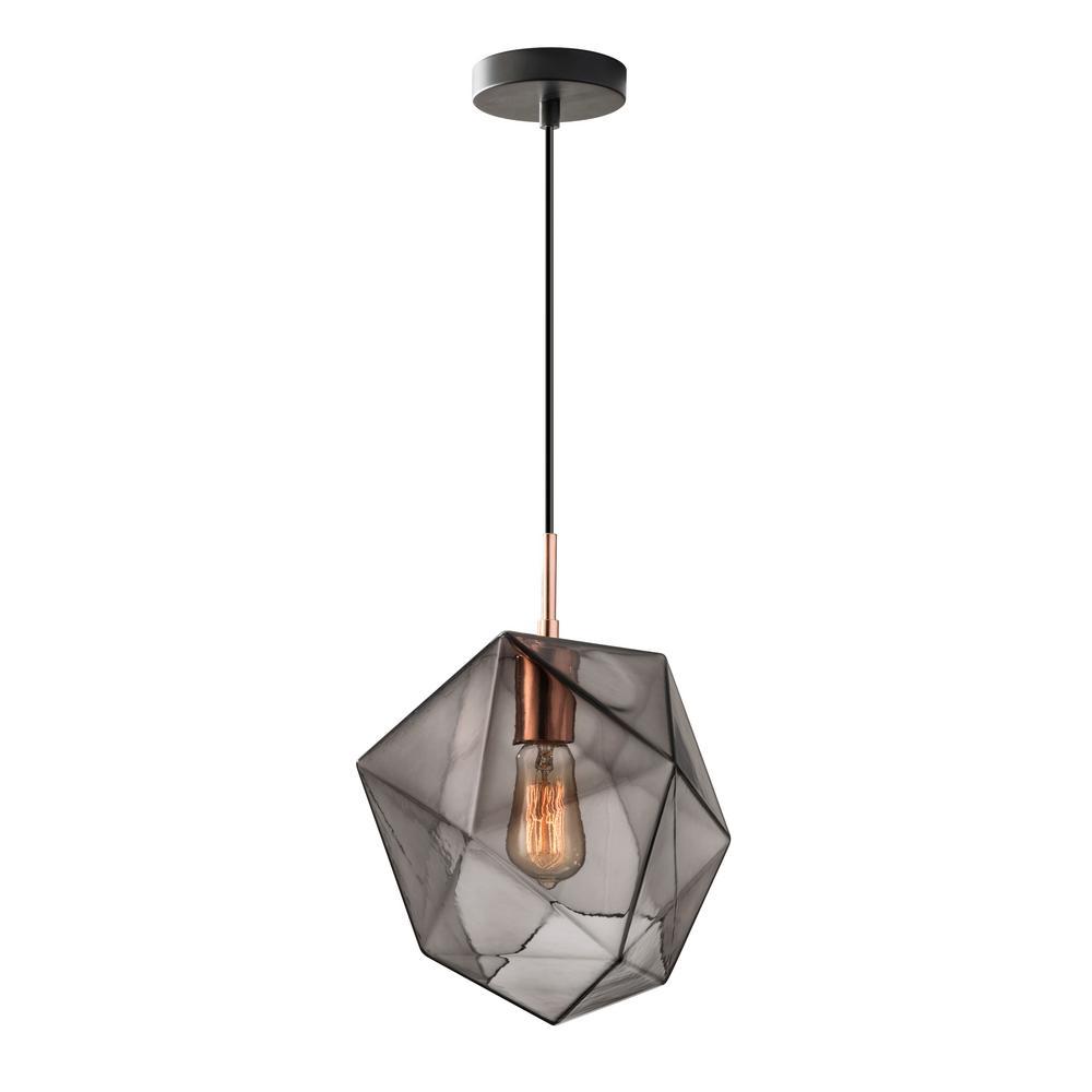 Haze 1-Light Copper Pendant