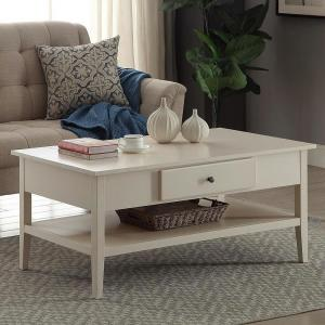 Arbor White Coffee Table by