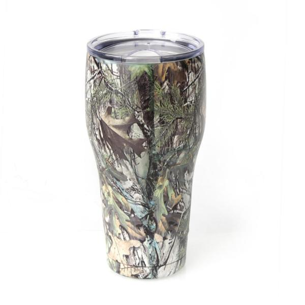 59a7fb68c45 Tahoe Trails 30 oz. Camo Vacuum Insulated Stainless Steel Tumbler (2 ...