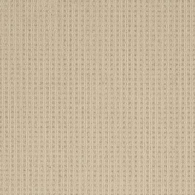 Carpet Sample - Breckenridge - Color New Sand Loop 8 in. x 8 in.