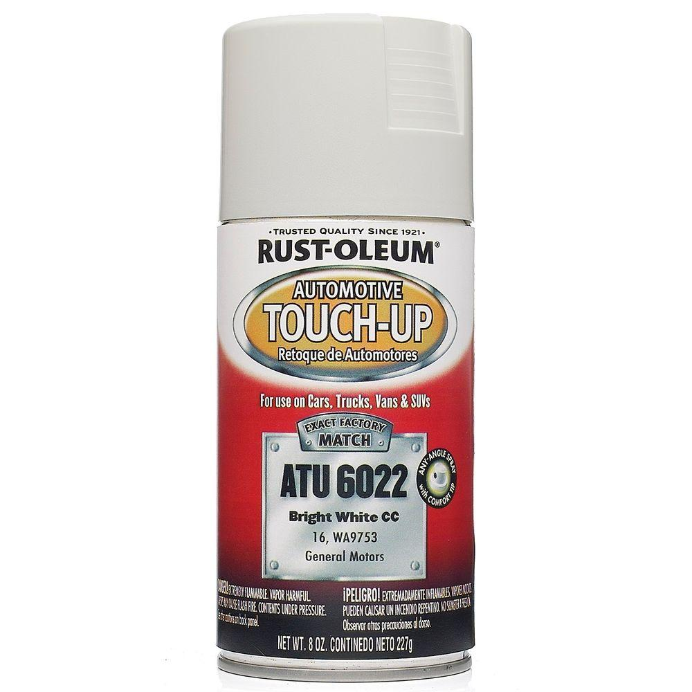 Rust-Oleum Automotive 8 oz. Bright White Auto Touch-Up Spray (6-Pack)