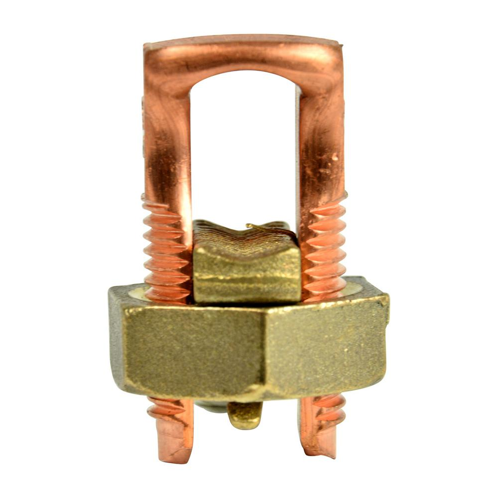 2/0 AWG Copper Split Bolt Connector (1-Pack) Case of 10