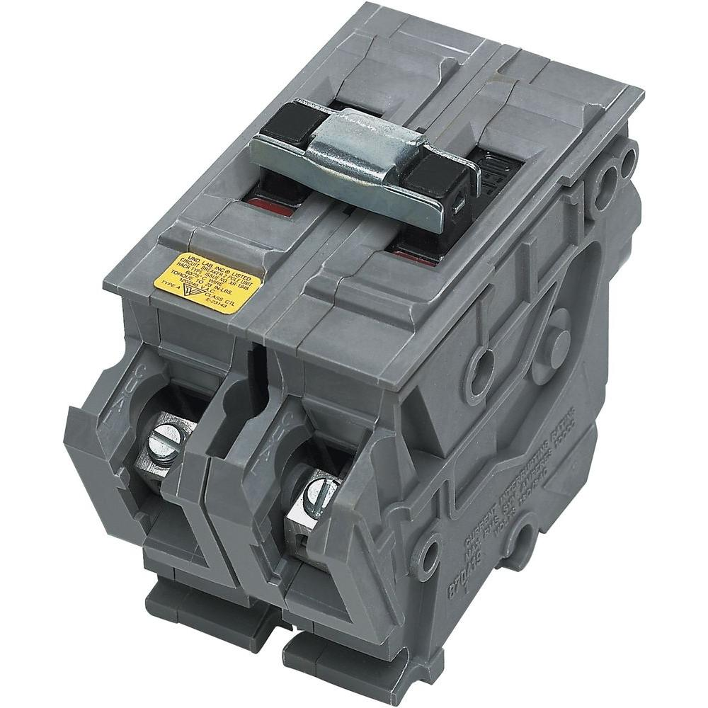 Wadsworth New UBIA 90 Amp 2 in. 2-Pole Type A Wadsworth Replacement Circuit Breaker