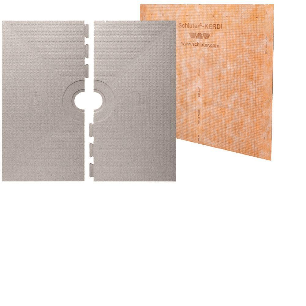 Schluter Kerdi-Shower 48 inch x 48 inch Shower Tray by Schluter