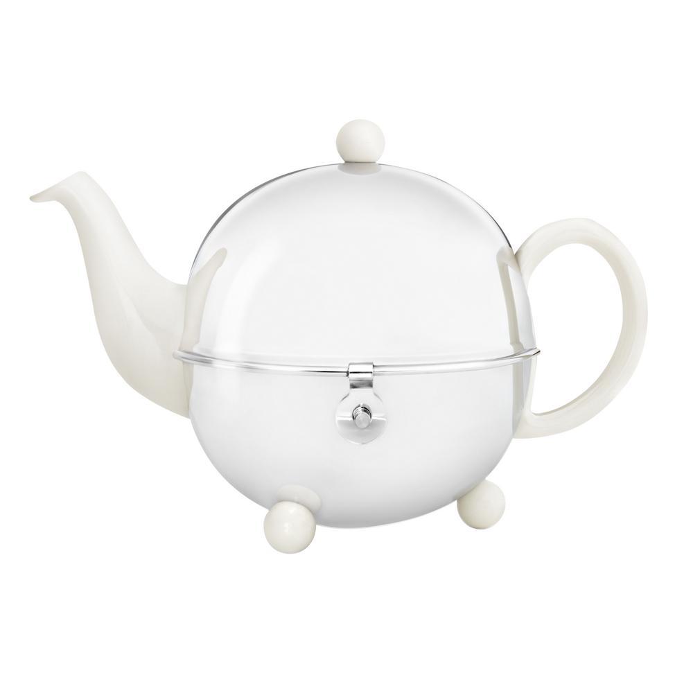 30 fl. oz. Spring White Cosy Teapot