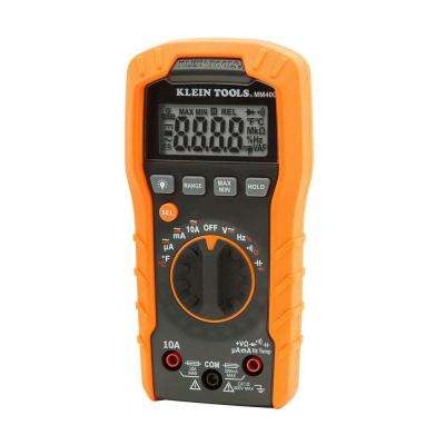 600V Auto-Ranging Digital Multimeter