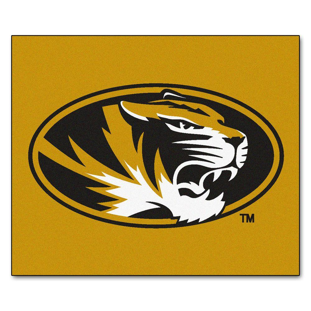 University of Missouri 5 ft. x 6 ft. Tailgater Rug