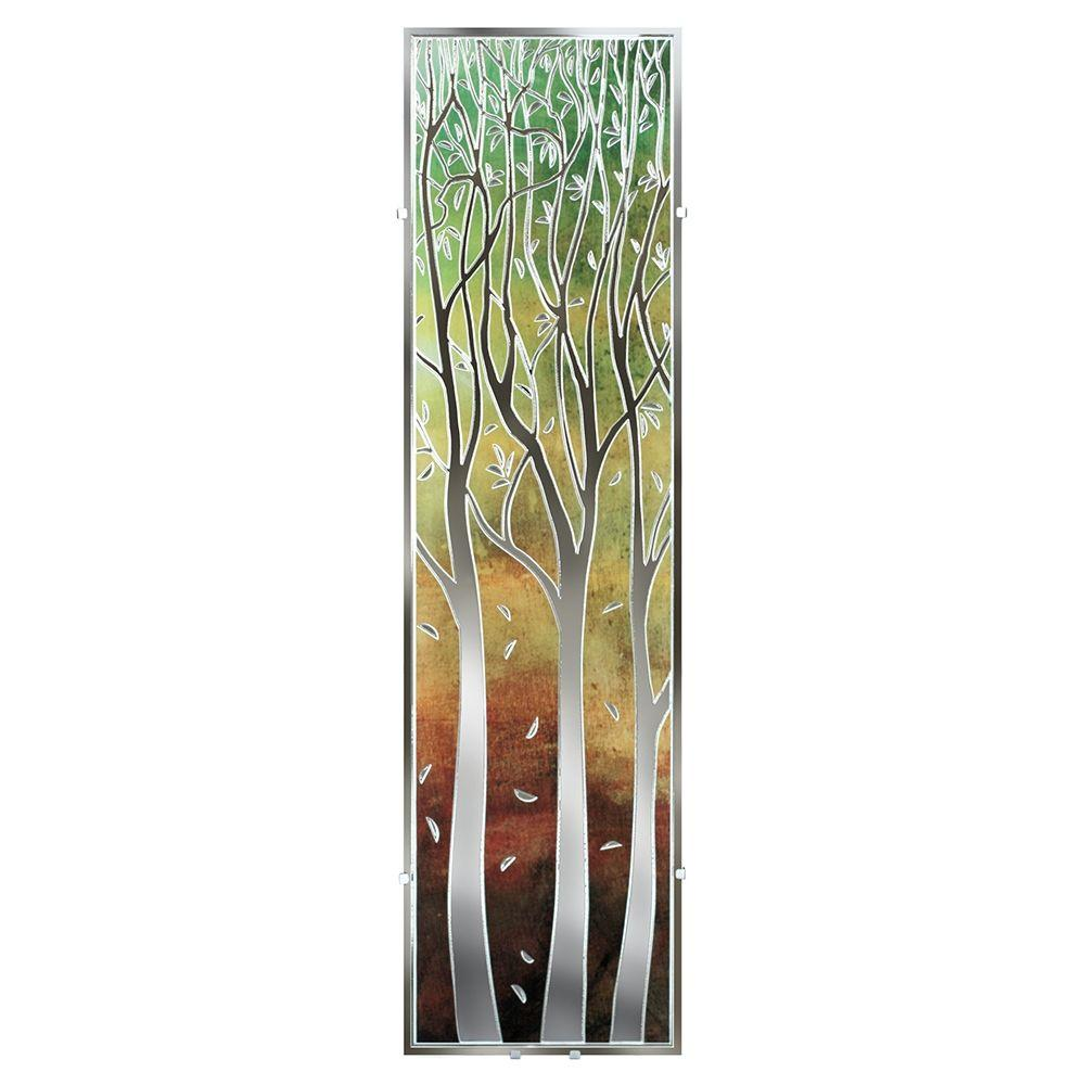 null Illuminada Eucalyptus Dusk ll Decorative 2-Light Amber Tones Wall Light