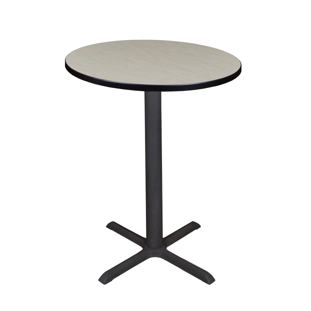 Cain Maple 30 in. Round Cafe Table