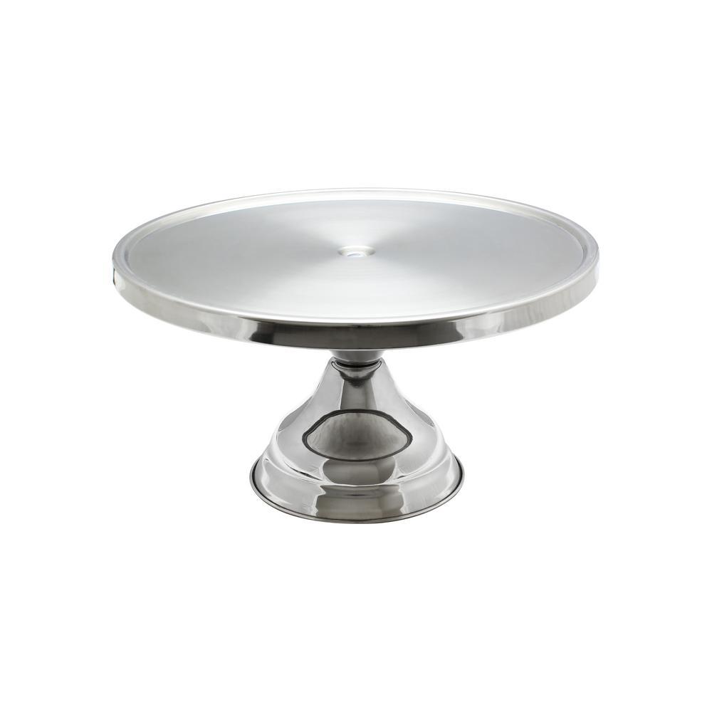 Restaurant Essentials Stainless Steel Cake Stand The - Restaurant table accessories