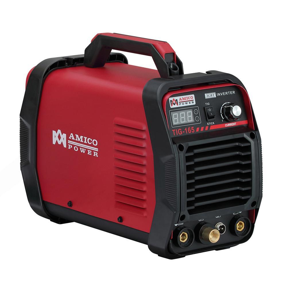 Amico 160 Amp High Frequency TIG Torch/Stick/ARC DC Inverter Welder 115/230-Volt Dual Voltage Welding