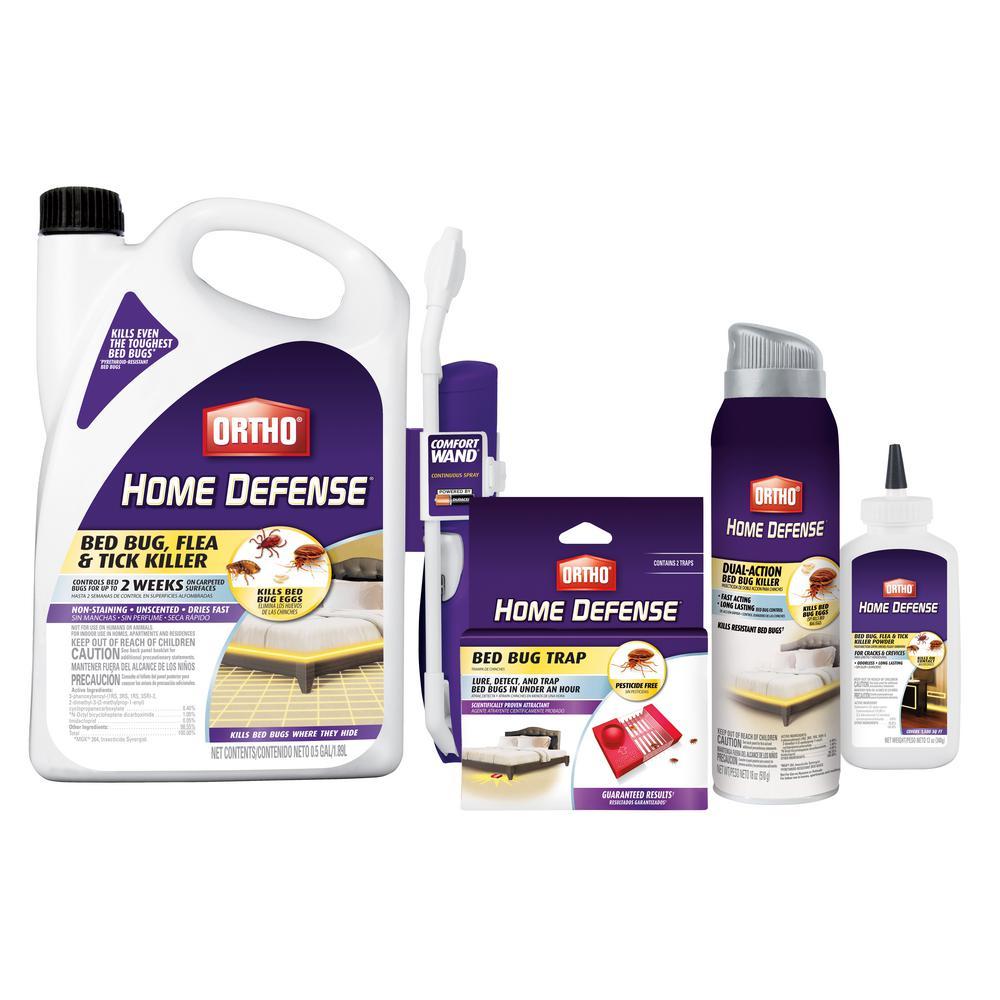 Ortho Bed Bug Value Bundle 438660105 The Home Depot