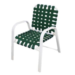 Commercial Outdoor Dining Furniture tradewinds scandia white commercial strap patio dining chair (2