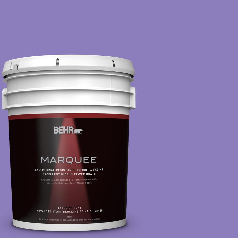 5-gal. #P560-5 Unimaginable Flat Exterior Paint