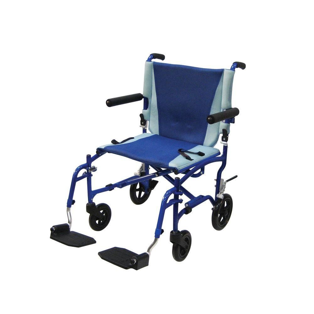 Drive Aluminum Transport Wheelchair Ts19 The Home Depot
