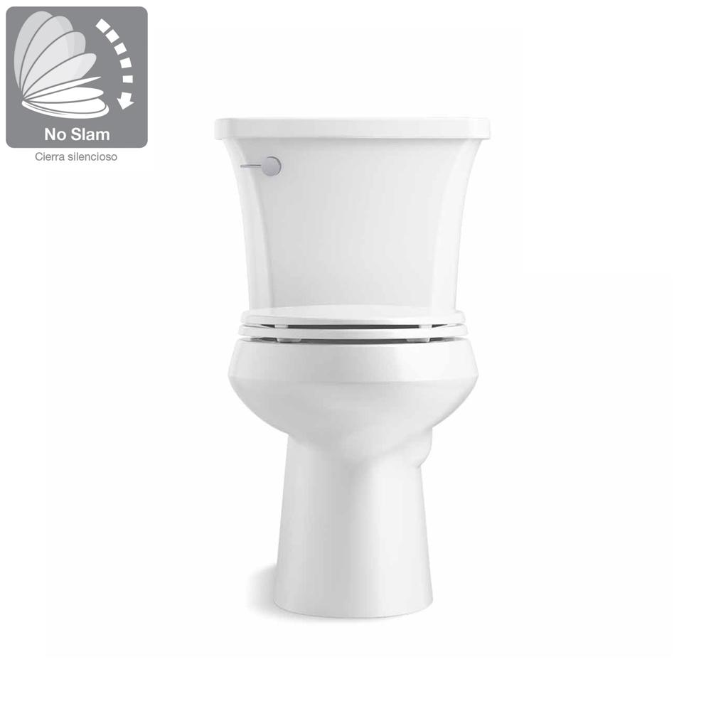 Kohler Highline Arc The Complete Solution 2 Piece 1 28 Gpf Single Flush Elongated Toilet In White Seat Included 3 Pack K 78279 3 0 The Home Depot