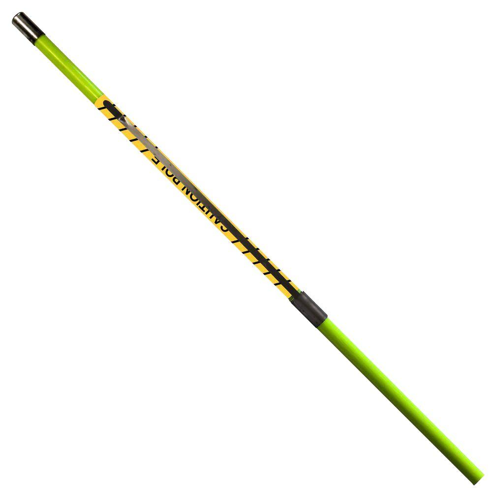 Dasco Pro 48 in. Caution Pole The Dasco Pro 48 in. Caution Pole is durably made from fiberglass. It is ideal for marking off construction areas, damaged or bare patches of grass or automotive emergencies. A metal pole drives it into the ground.